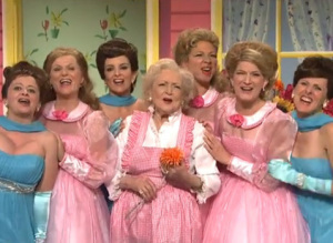 s BETTY WHITE SNL large