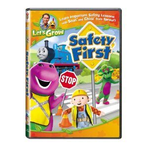 Let's Grow: Safety First DVD Giveaway
