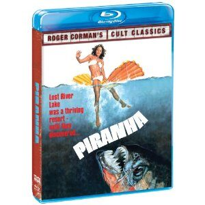 Roger Corman Cult Classics: Piranha and Humanoids from the Deep Blu-rays Giveaway