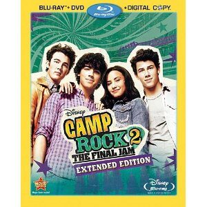 Camp Rock 2 The Final Jam: Extended Edition Blu-ray Combo Pack Giveaway