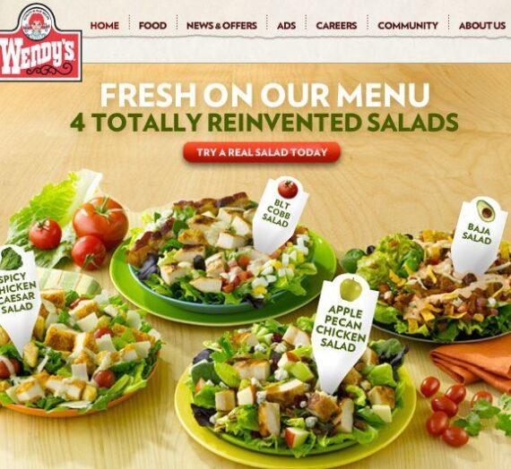 Wendy's Reinvented Salad Lineup