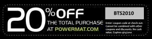 powermat coupon