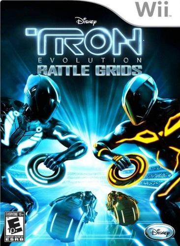 Tron Evolution Battle Grids Wii Game