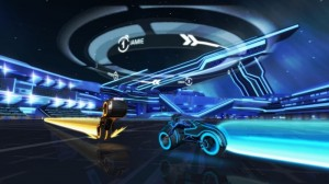 Tron Game Play