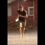 Breaking Dawn Taylor Lautner rain