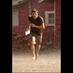 Breaking Dawn Taylor Lautner rain