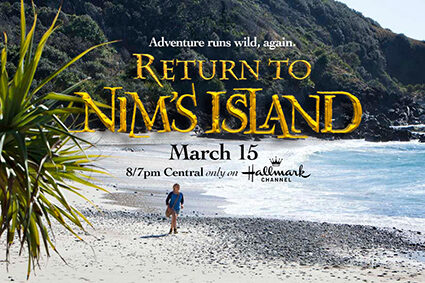 Return to Nim's Island Blu-ray Combo Pack Giveaway