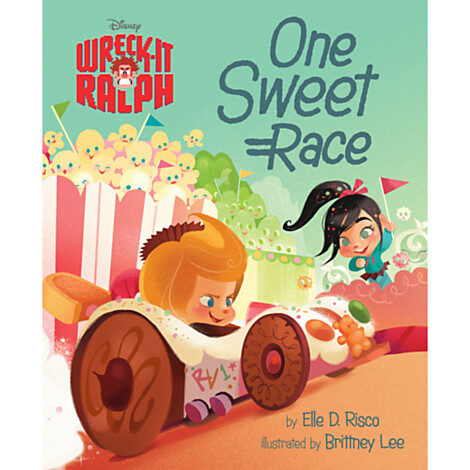 Wreck it Ralph iPad App and Book Review
