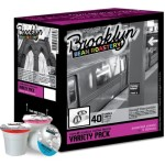 Brooklyn Beans Coffee– A Review and Giveaway-a 40 count Variety pack of Brooklyn Beans Coffee for  Keurig K-Cup Brewers