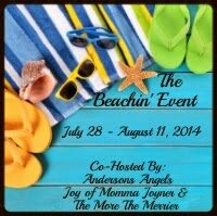 The Beachin' Event Summer Giveaway by Bookroomreviews