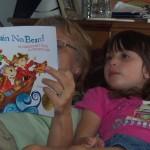 Nana Reading to Alyssa