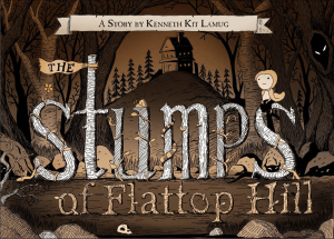 The Stumps of Flattop Hill : Book Review , ghost stories