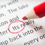 General Strategies For Editing/Proofreading