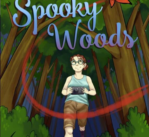 Sara Flutterbye and the Spooky Woods by John Hallis