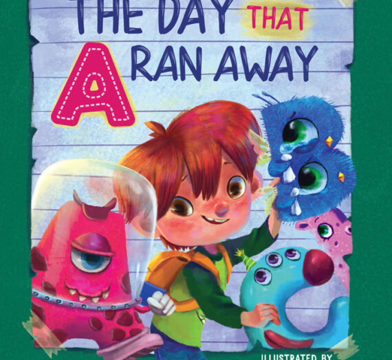The Day That A Ran Away by B.C.R. Fegan
