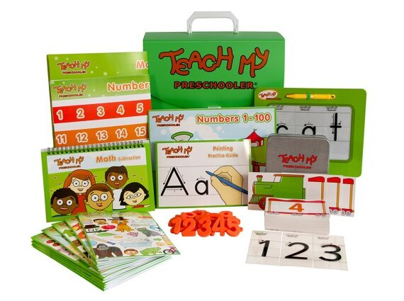 Win a Teach My Preschooler Learning Kit by TeachMy.com