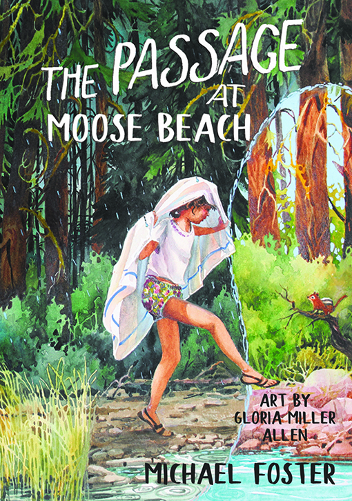 The Passage at Moose Beach by Michael Foster