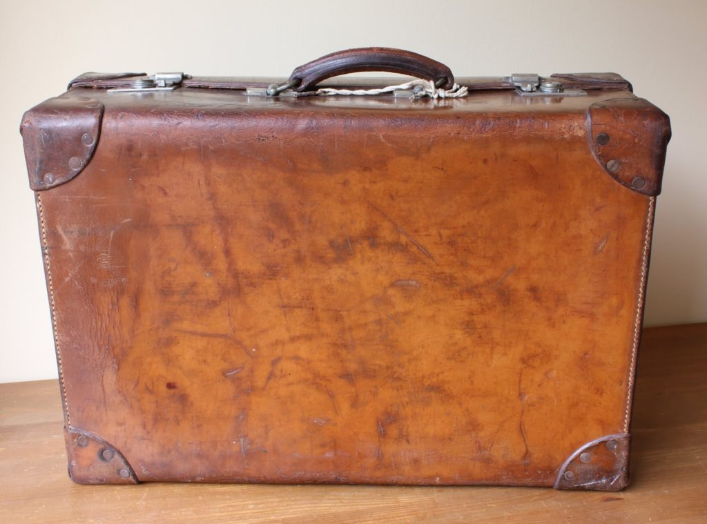Caring for you leather suitcase
