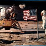 Moon Landing Intarsia