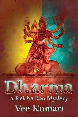 Dharma: A Rekha Rao Mystery virtual book tour