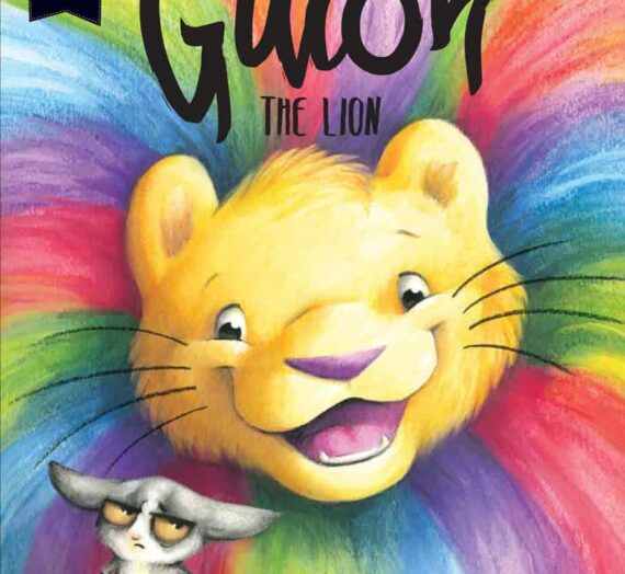 GUION THE LION by  Rebecca Wilson Macsovits