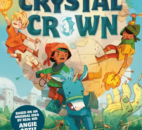 Quest for the Crystal Crown book 3 in the Story Pirates Series