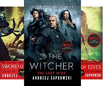 The Witcher Books Series , The Witcher Saga